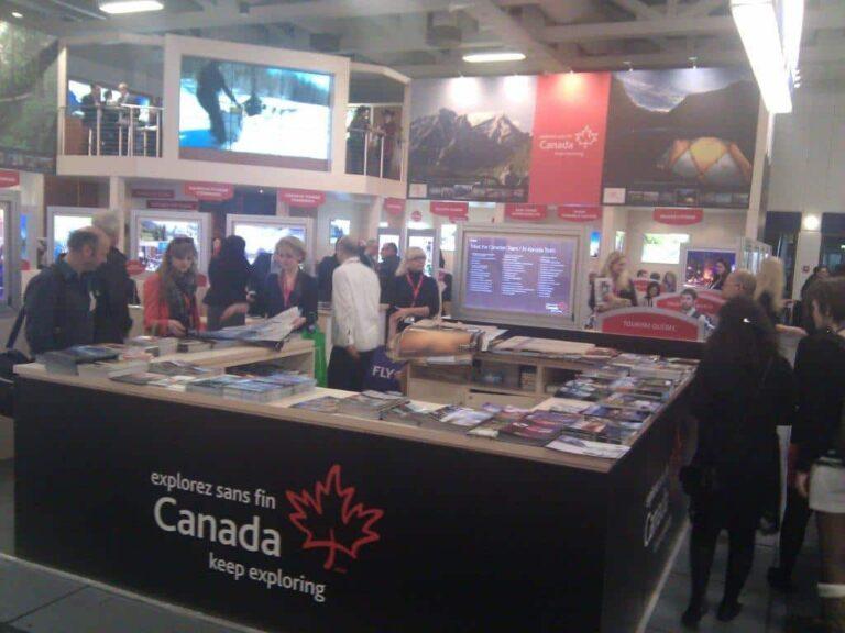 Der Kanada-Stand auf der ITB 2012