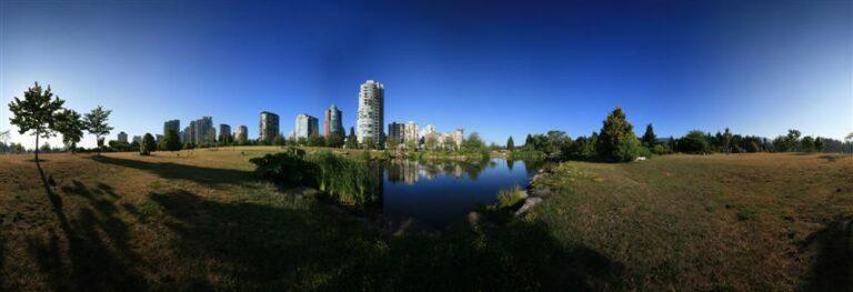 Vancouver im 360-Grad-Panorama