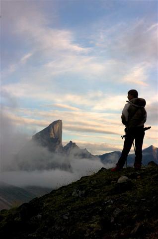 Gipfelstürmer (c) Tourism Nunavut