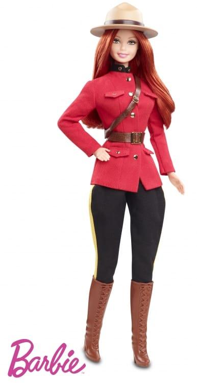 Barbie® goes Saskatchewan - Mattels neue RCMP-Puppe ist Kassenschlager