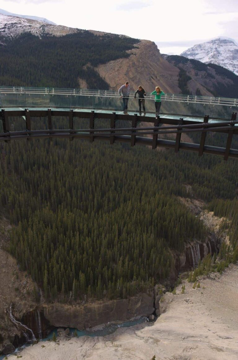 Glacier Skywalk - Looking Down
