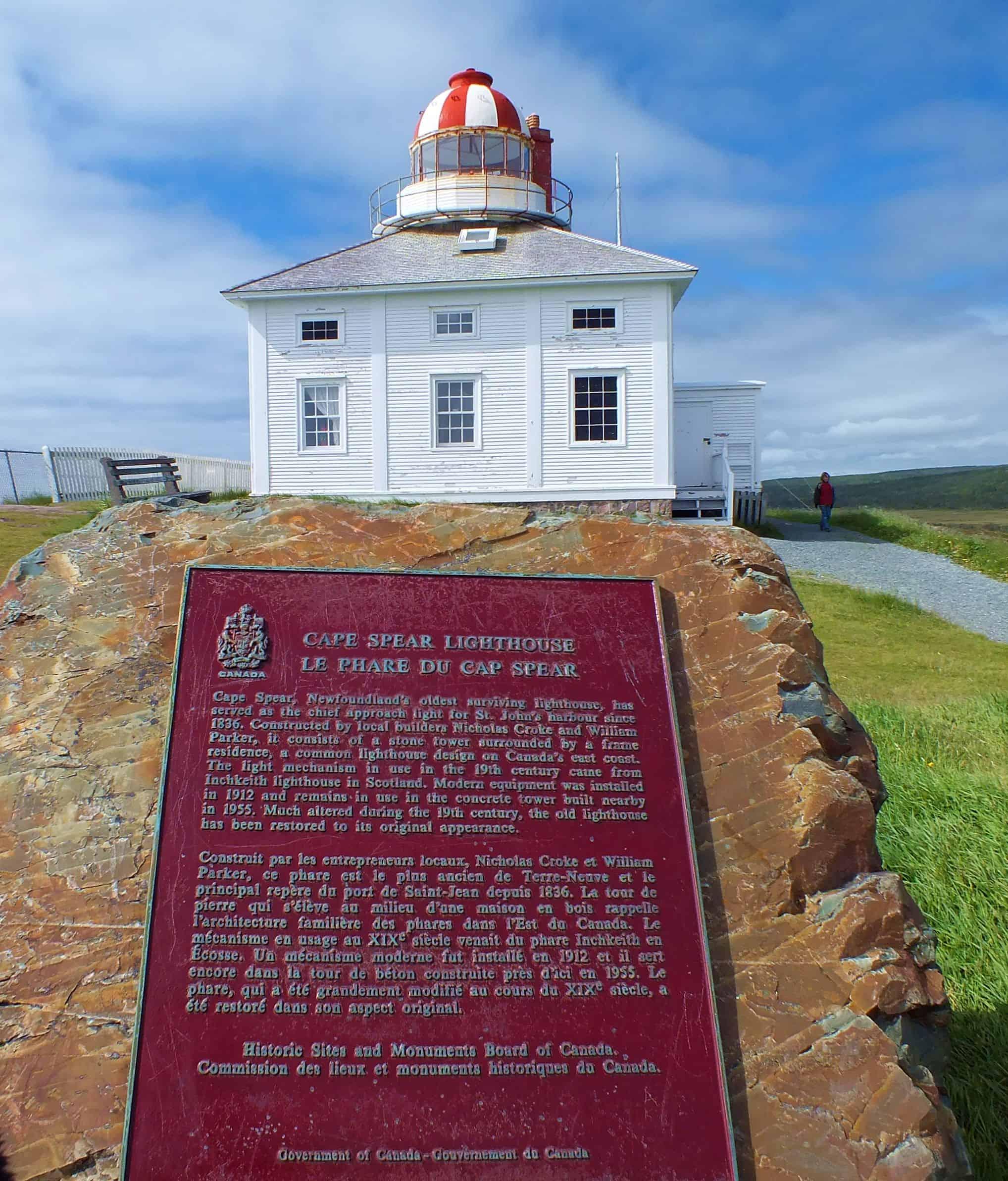 Am östlichsten Punkt Nordamerikas Der Historische Leuchtturm Von