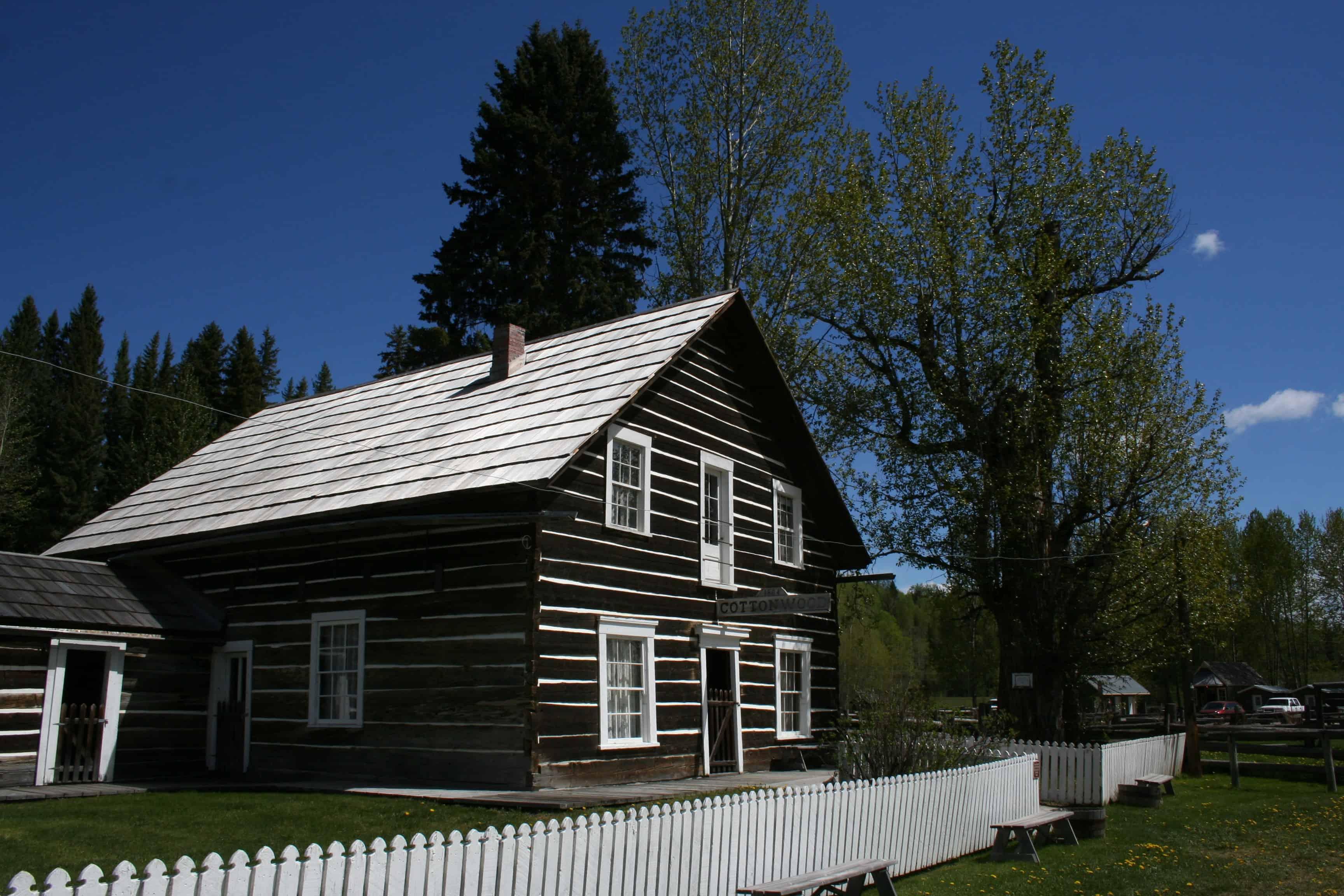 cottonwood house die verpflegungsstation im cariboo