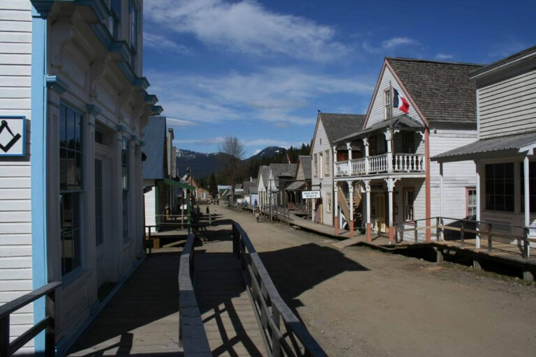 """Barkerville """"Downtown"""""""