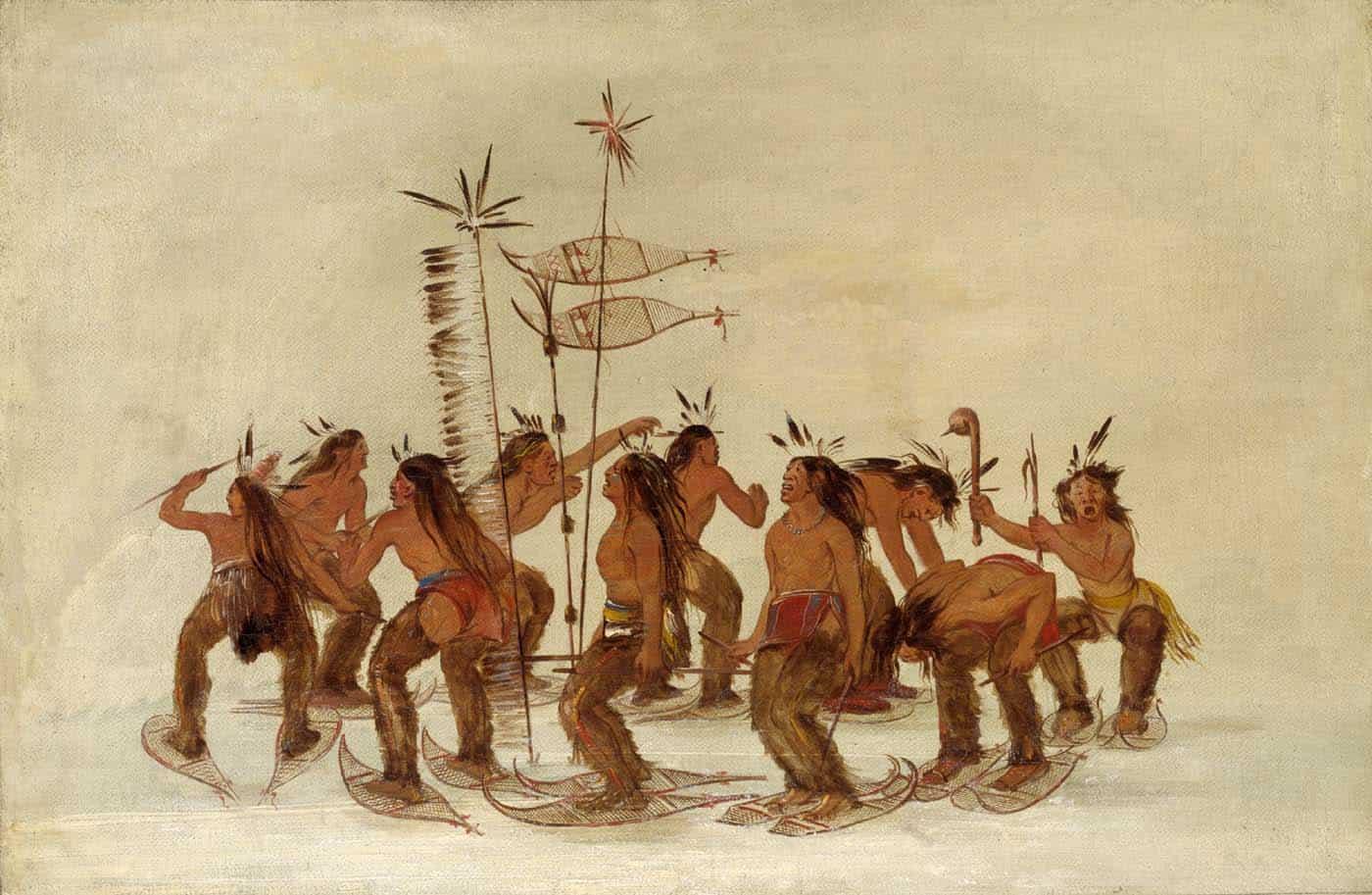 Die Geschichte der Schneeschuhe in Kanada