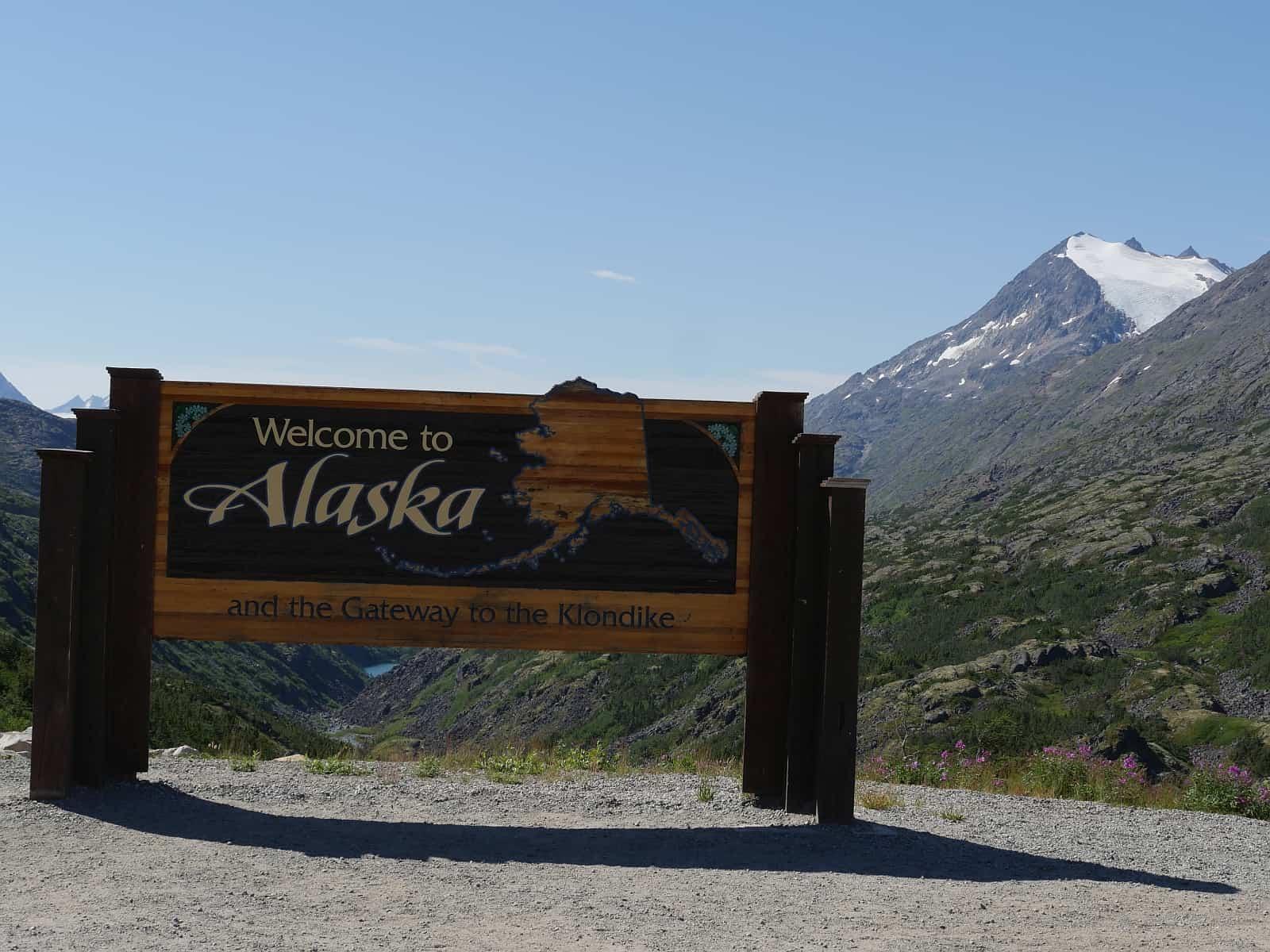 In Alaska unterwegs, auf dem Weg nach Skagway. Foto Alfred Pradel
