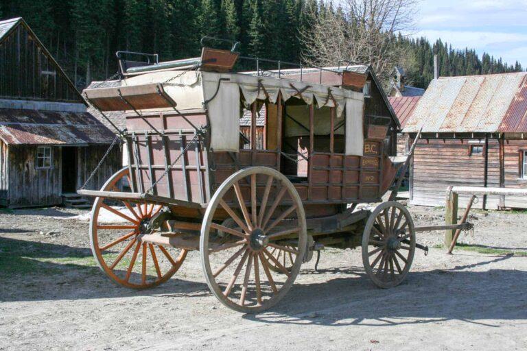 Barkerville Pferdekutsche - Foto Tobias Barth