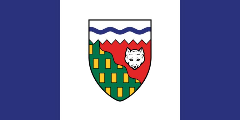 Die Flagge der Northwest Territories.