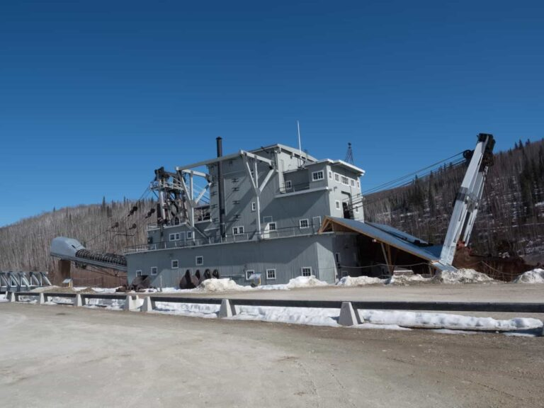 Dredge No 4 - Dawson City - Foto Tobias Barth