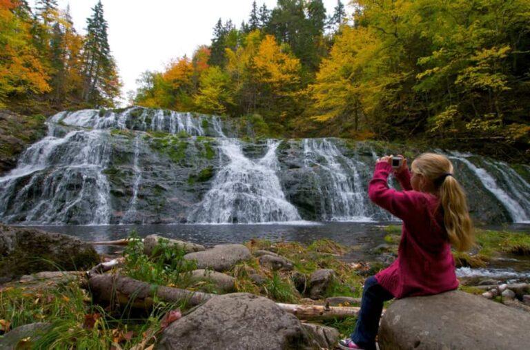 Egypt Falls, Scotsville, Cape-Breton-Highlands-Nationalpark - Foto Nova Scotia Tourism