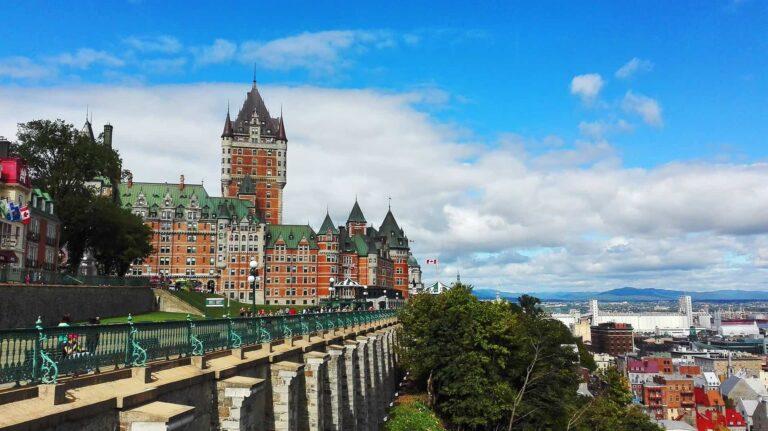 Blick auf Québec City. Foto Deposit