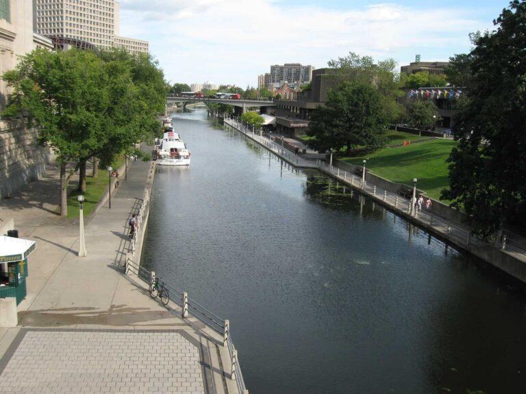 Rideau Canal National Historic Site, Ottawa, Ontario -1