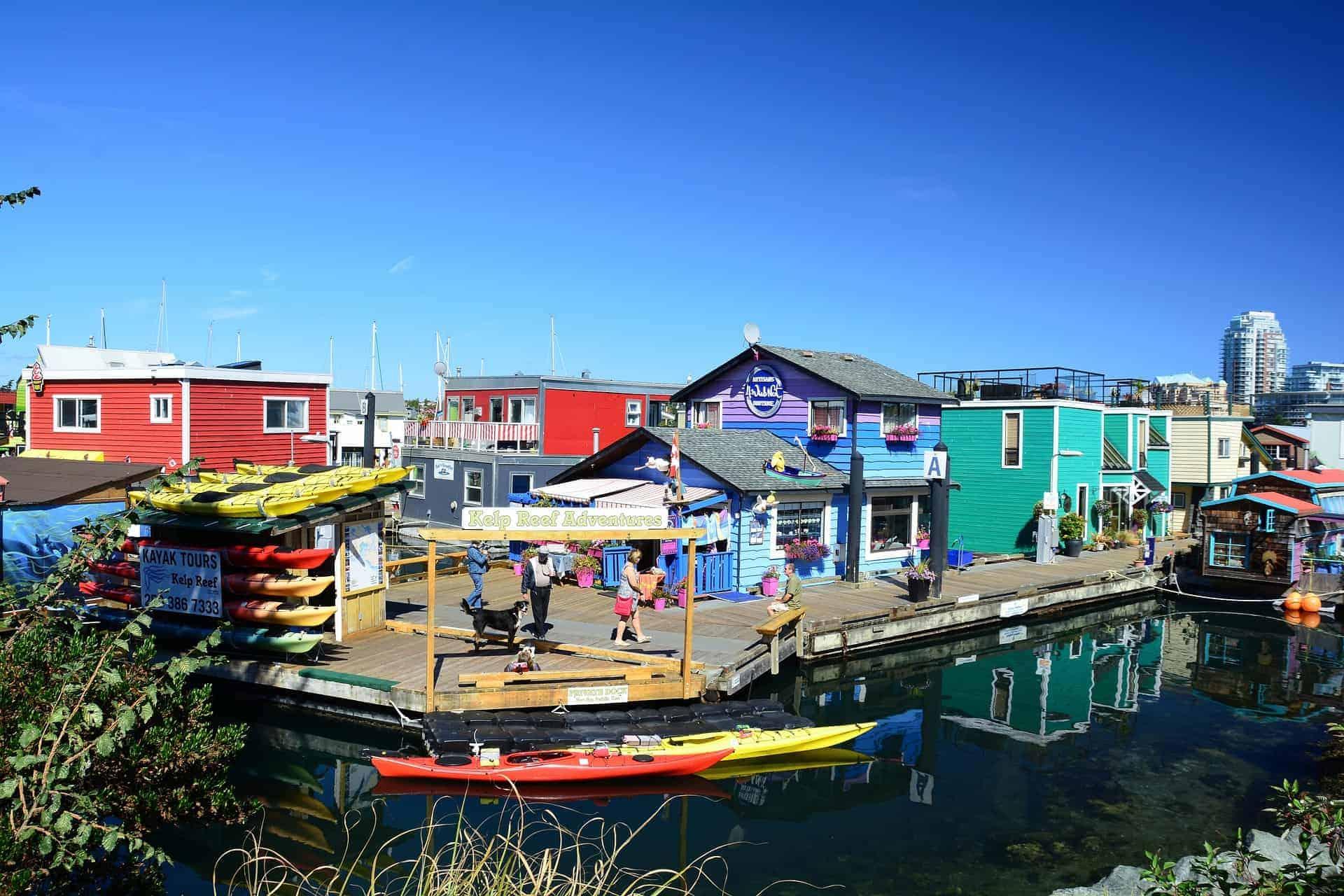 Victoria - Fisherman's Wharf.