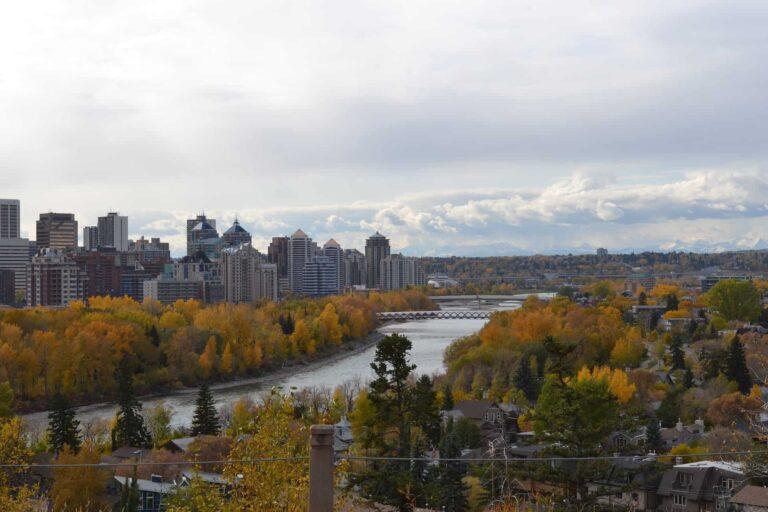 Calgary am Bow River