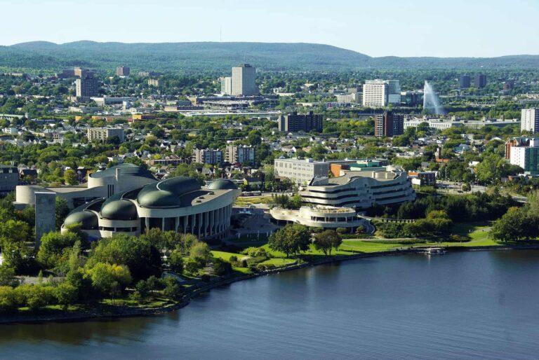 Ottawa hat architektonisch viel zu bieten