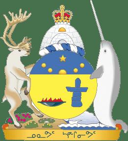 Wappen des kanadischen Territoriums Nunavut