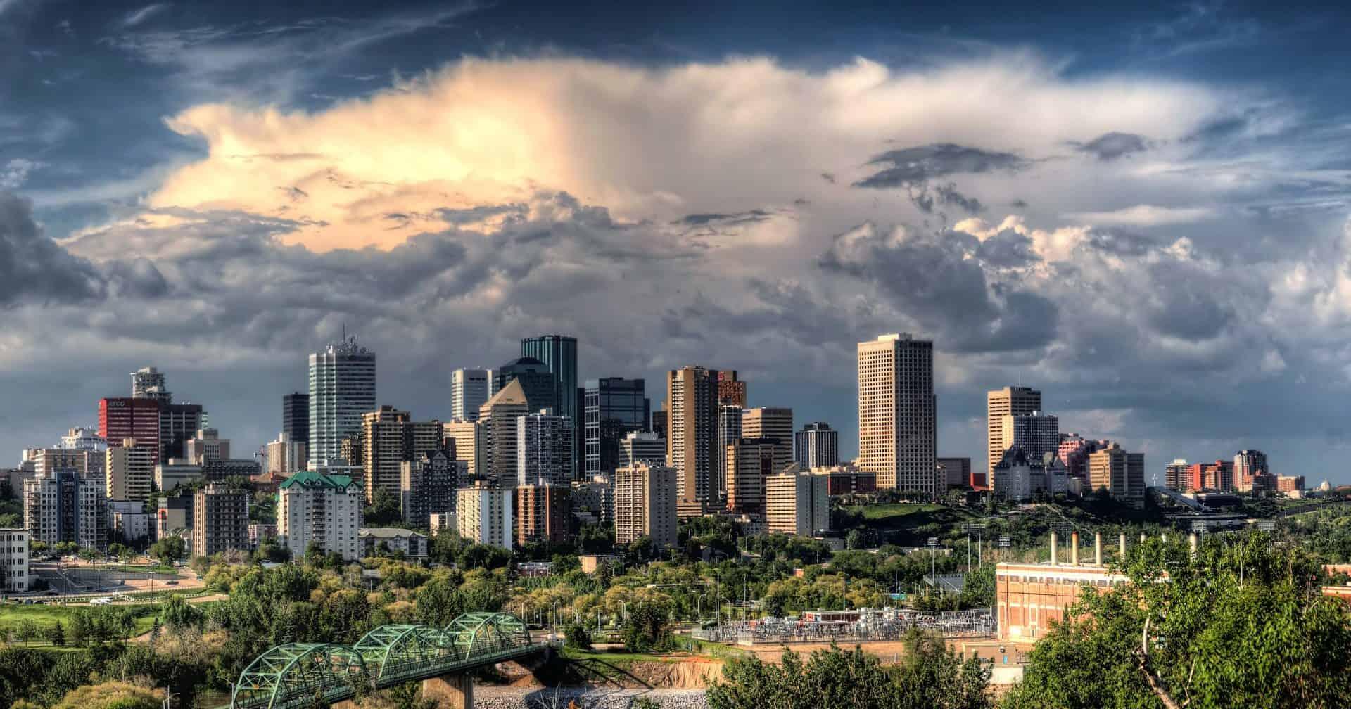 Uhrzeit Edmonton