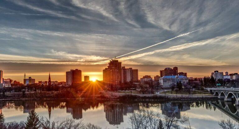Saskatoon Sonnenuntergang