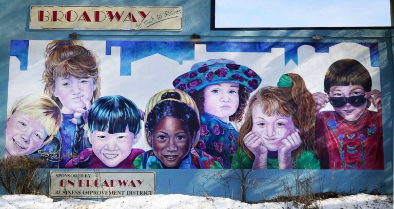 Saskatoon - Wandmalerei