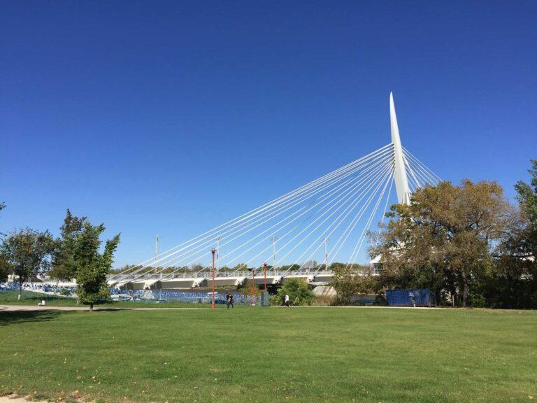 Winnipeg - Esplanade Riel Bridge