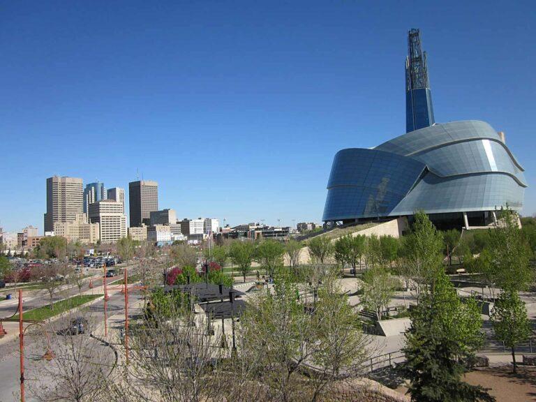 Winnipeg - Kanadisches Museum für Menschenrechte