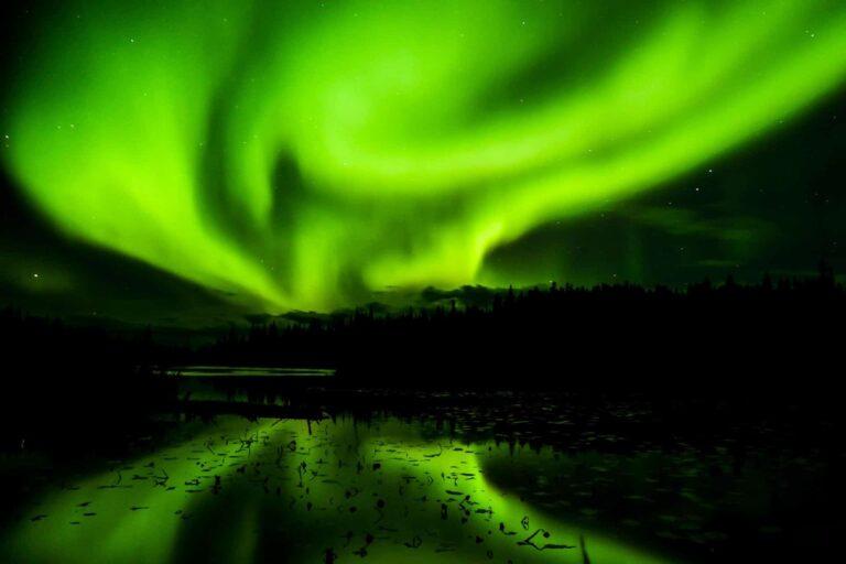 Yellowknife - Hauptstadt der Aurora Borealis