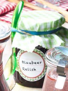 Savour Canada: Blaubeer-Relish für große und kleine Grillgourmets