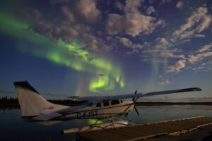 Aurora Borealis in den Northwest Territories