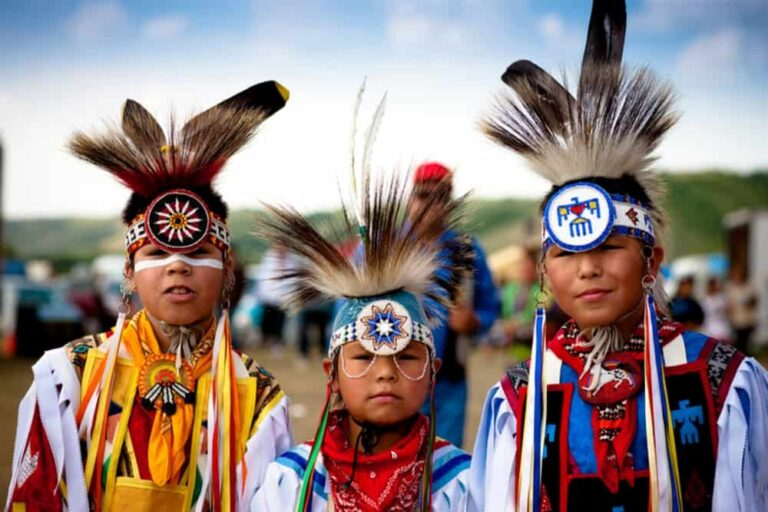 Standing Buffalo First Nation Powwow, Saskatchewan. Foto Greg Huszar Photography/Tourism Saskatchewan