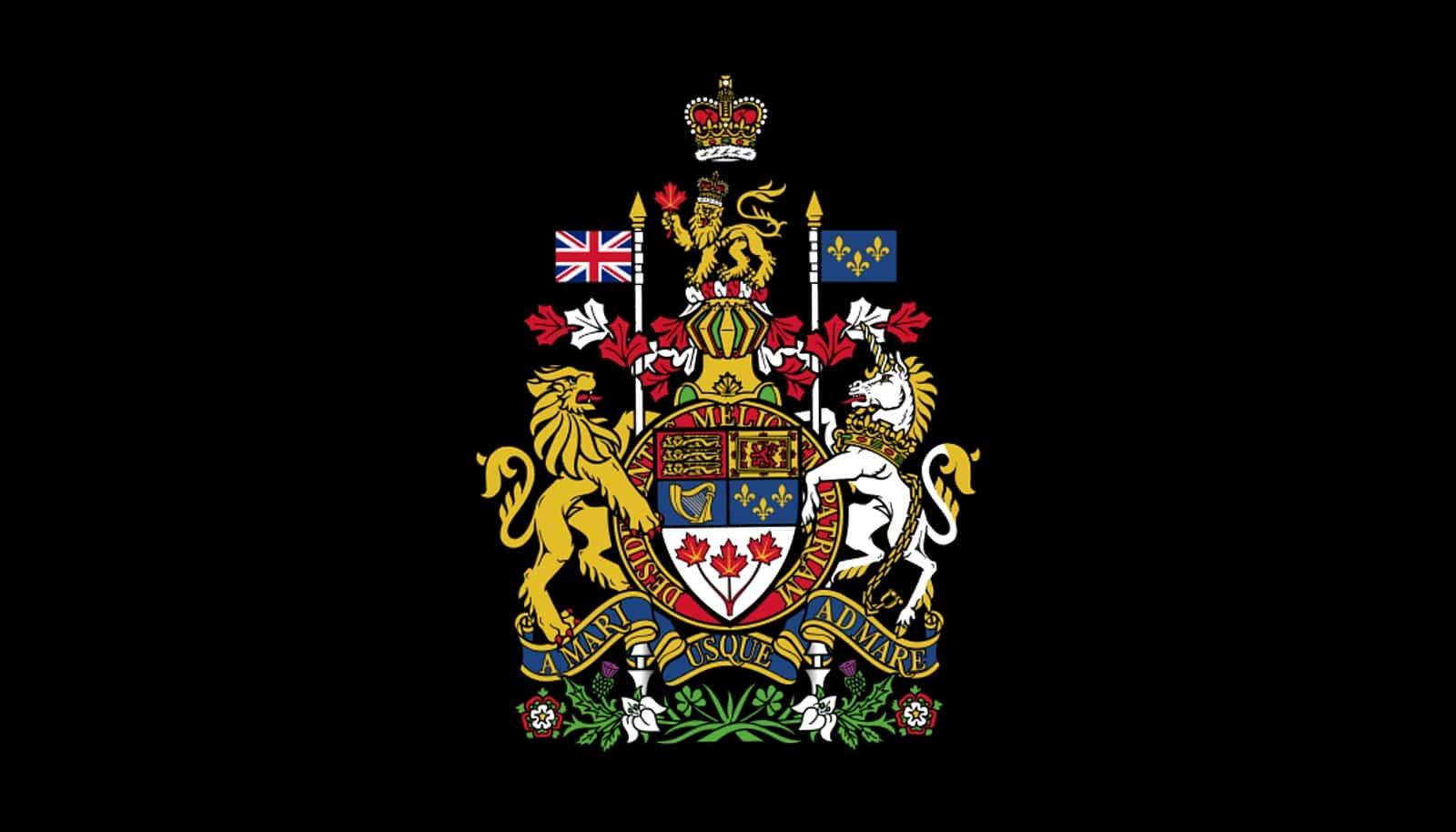 Das Wappen Kanadas. Foto gemeinfrei