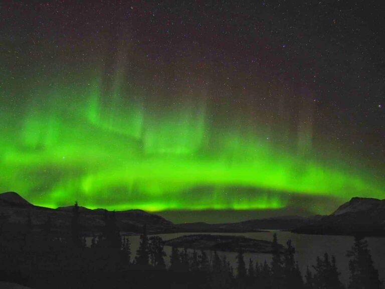 Magisch tanzen die Nordlichter am Himmel. Wer könnte sich dieser Faszination entziehen? Foto TobiasBarth