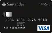 Santander 1plus Visa-Card