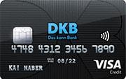 Die kostenlose VISA Kreditkarte von der DKB