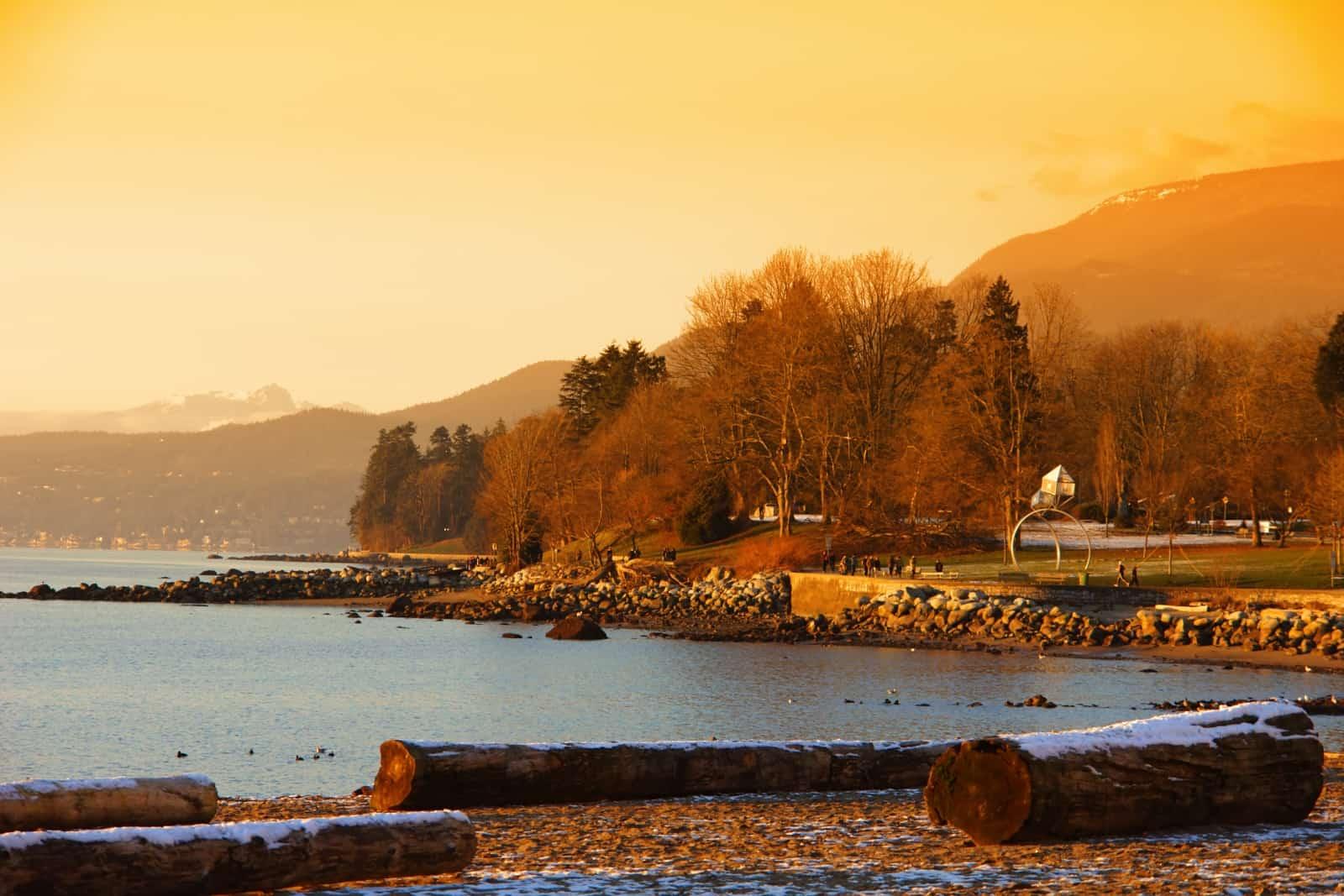 Sehenswürdigkeiten Vancouver. Der Stanley Park Vancouver Foto kwest19