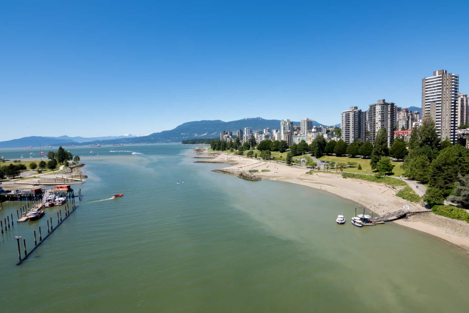 Vancouver English Bay Foto Exflow