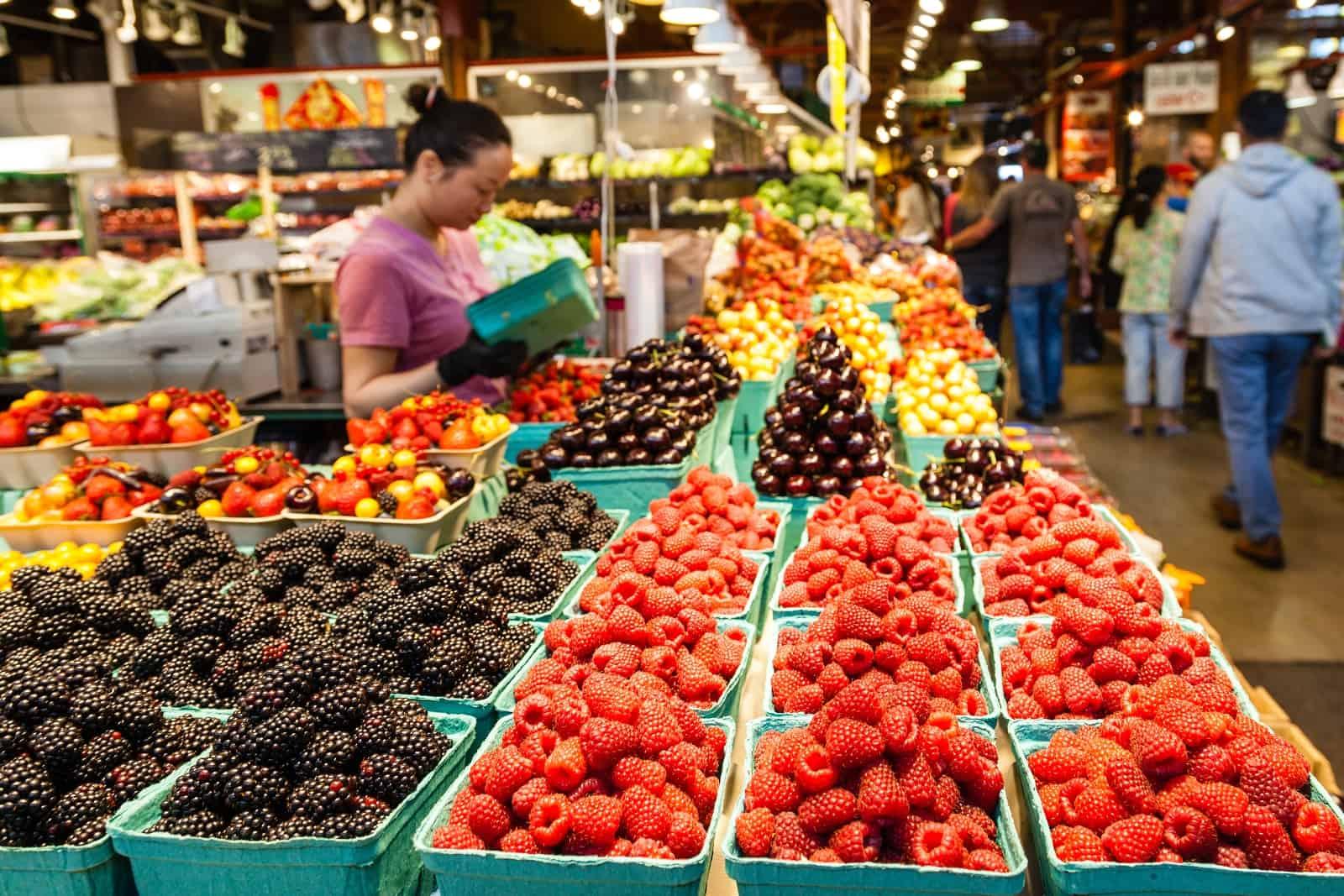Granville Island Market Foto ronniechua