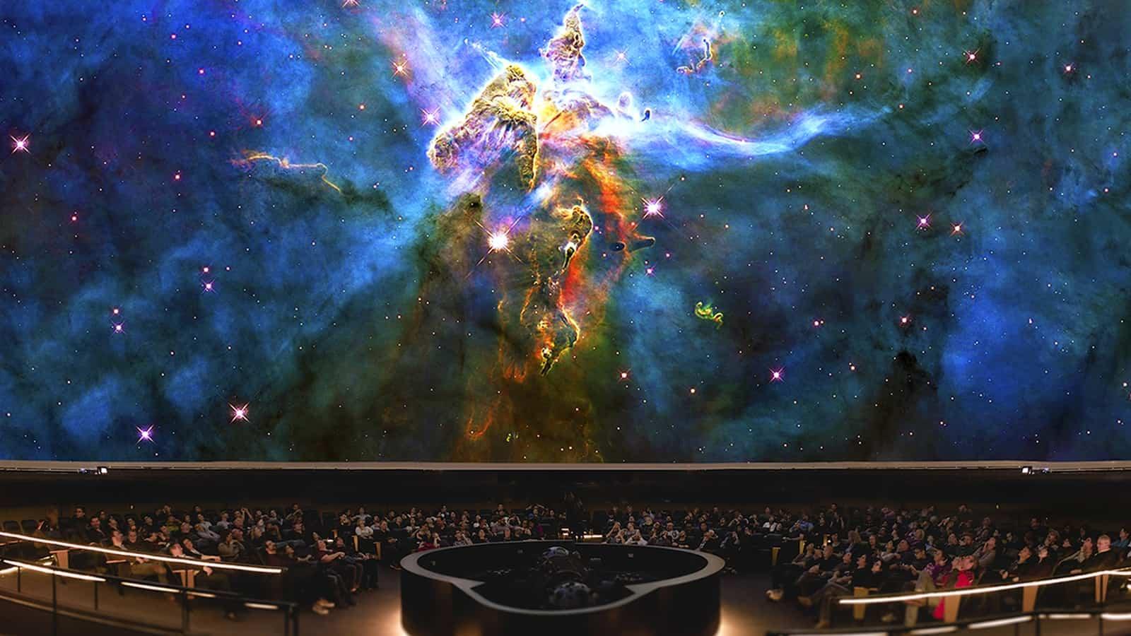 Planetarium im H. R. MacMillan Space Centre Foto H. R. MacMillan Space Centre