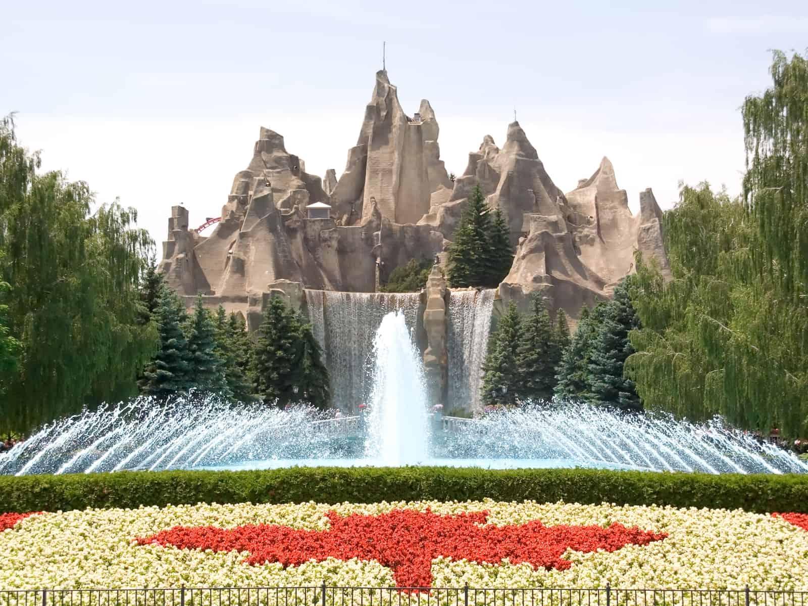 Willkommen in Canada's Wonderland. Foto davidcrehner
