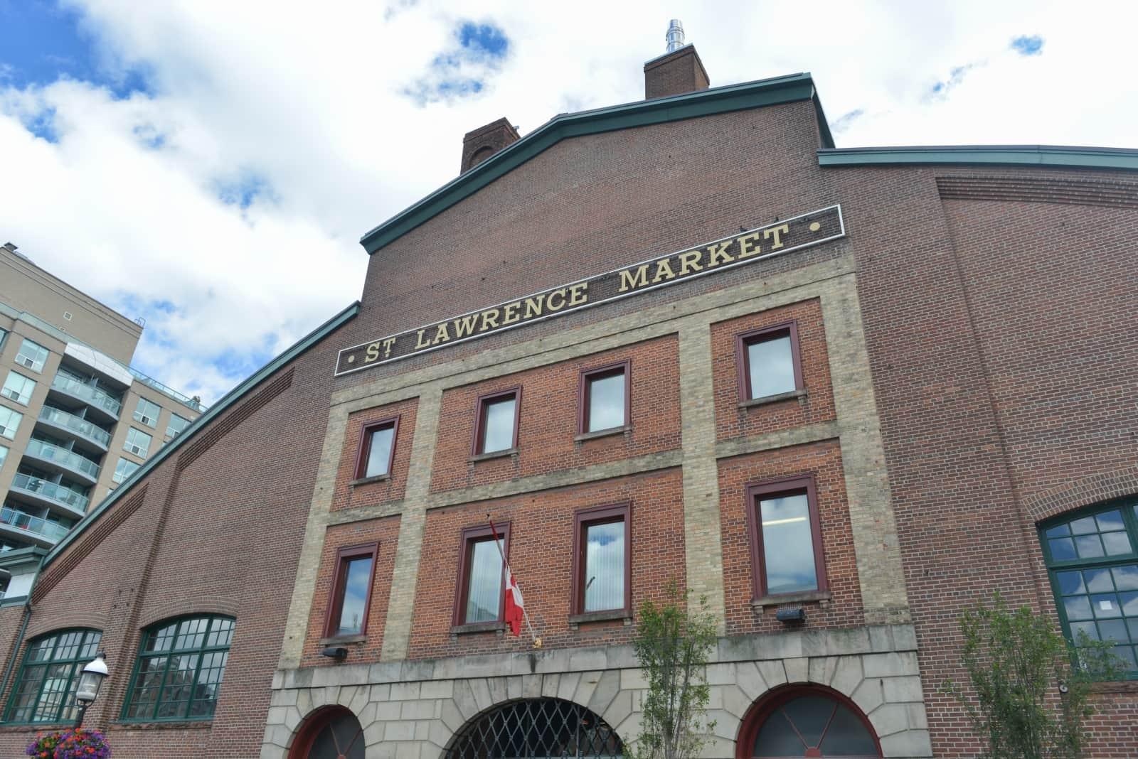Neben dem Kensington Market der Hauptmarkt in Toronto, der St. Lawrence Market. Foto demerzel21