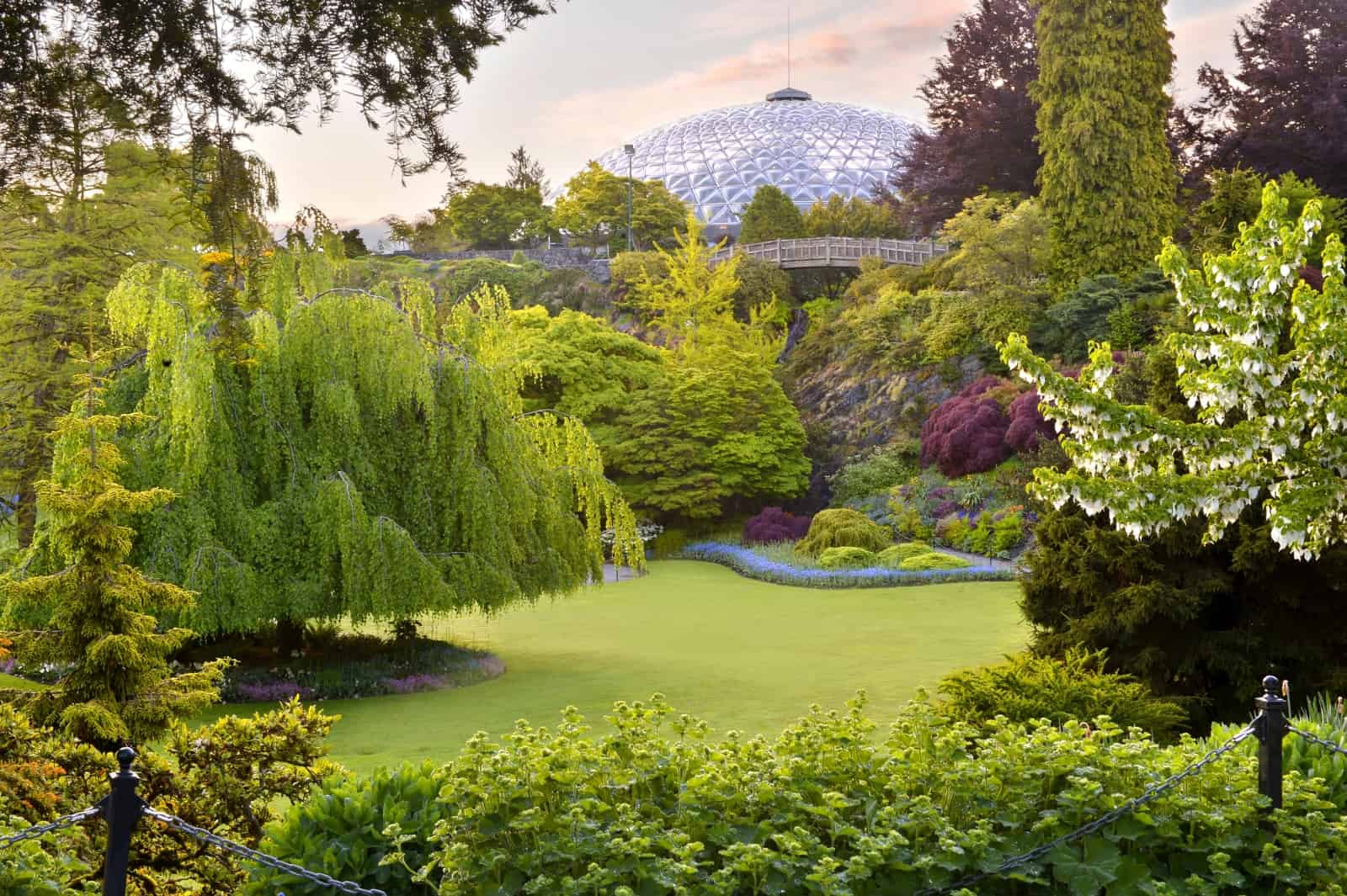 Bloedel Floral Conservatory im Queen Elizabeth Park. Foto Bloedel Conservatory