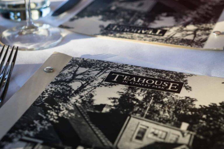 Das Teahouse in Stanley Park in Vancouver, kulinarischer Hochgenuss in herrlicher Landschaft. Foto