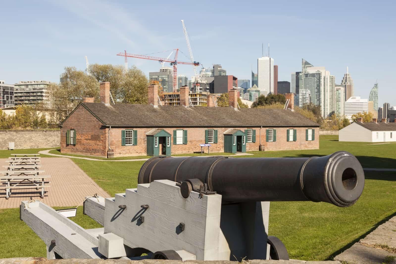 Fort York im Herzen Torontos. Foto p.lange