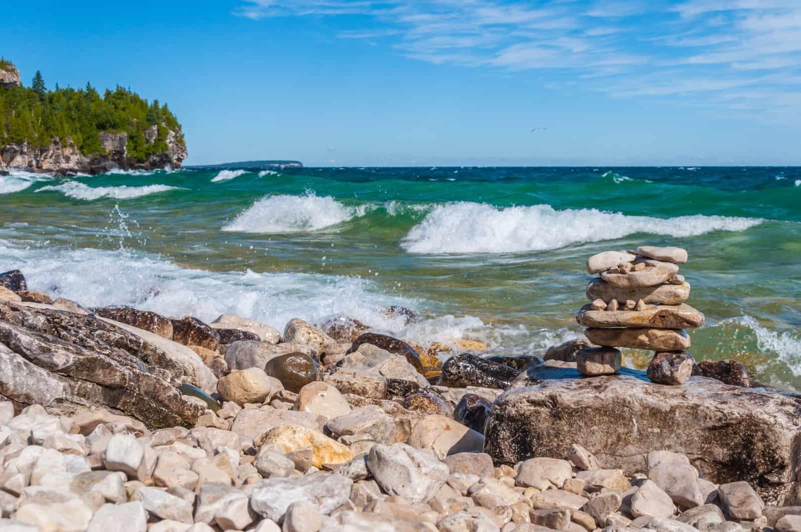 Lake Huron, Bruce Peninsula National Park, Ontario. Foto Vividus/BigStock
