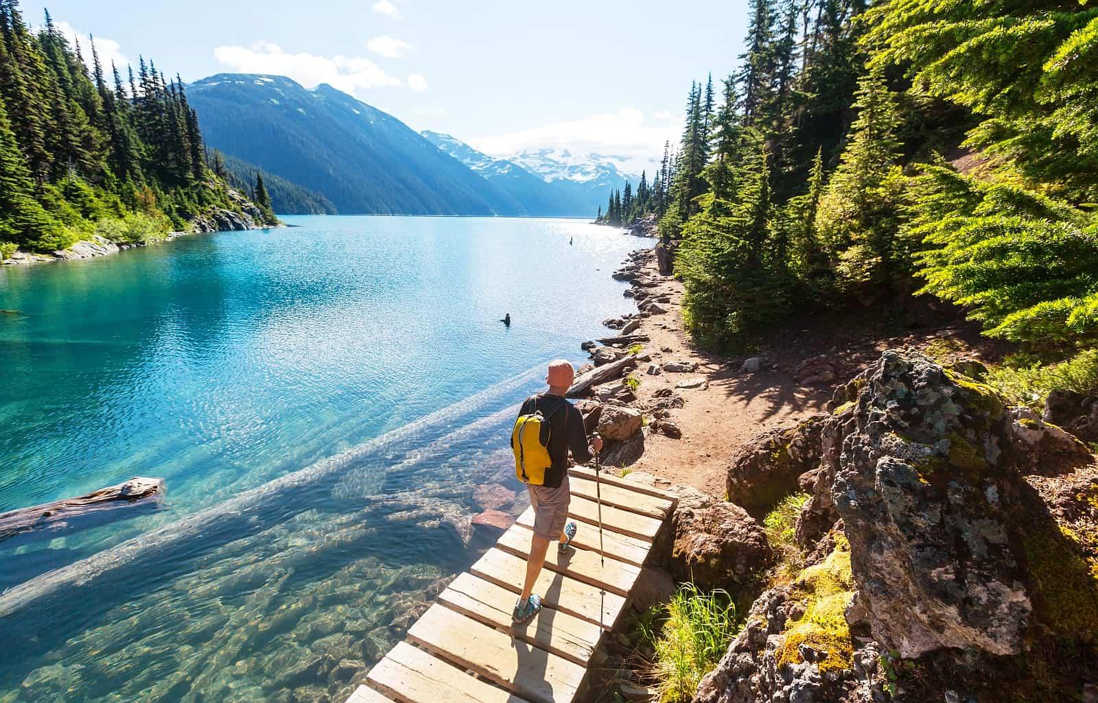 Unendliche viele Trails laden in Kanada zum Wandern ein.