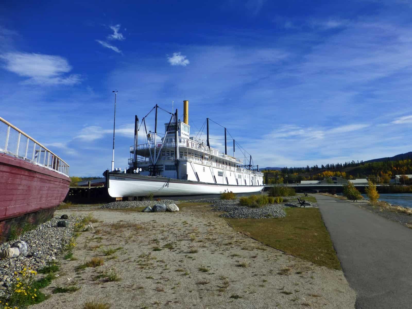 Die SS Klondike an ihrer letzten Anlegestelle in Whitehorse. Foto Daniela Ganz