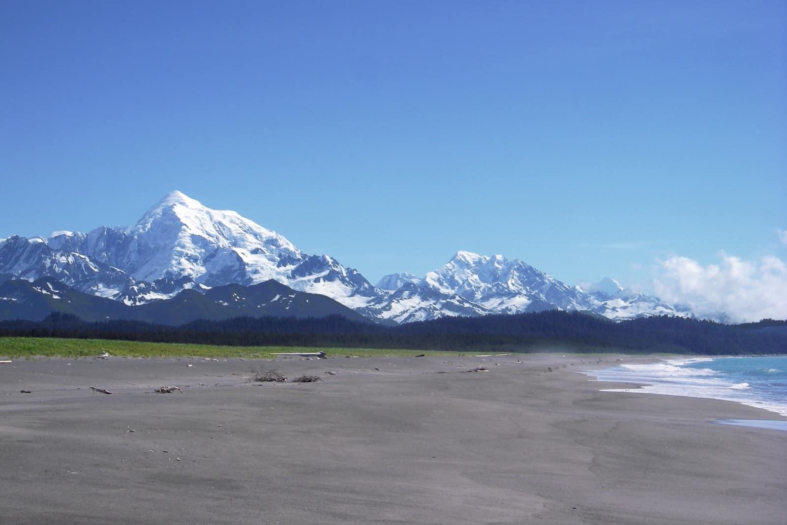 Mount Fairweather Foto Glacier Bay National Park and Preserve - Public Domain
