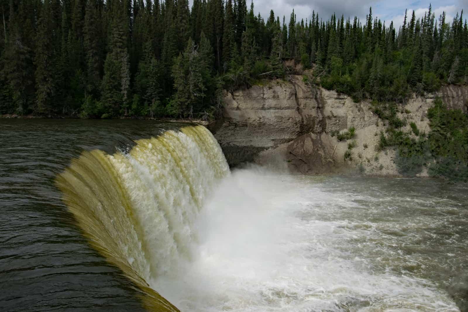 Die Lady Evelyne Falls an der Waterfall Route. Foto Daniela Ganz