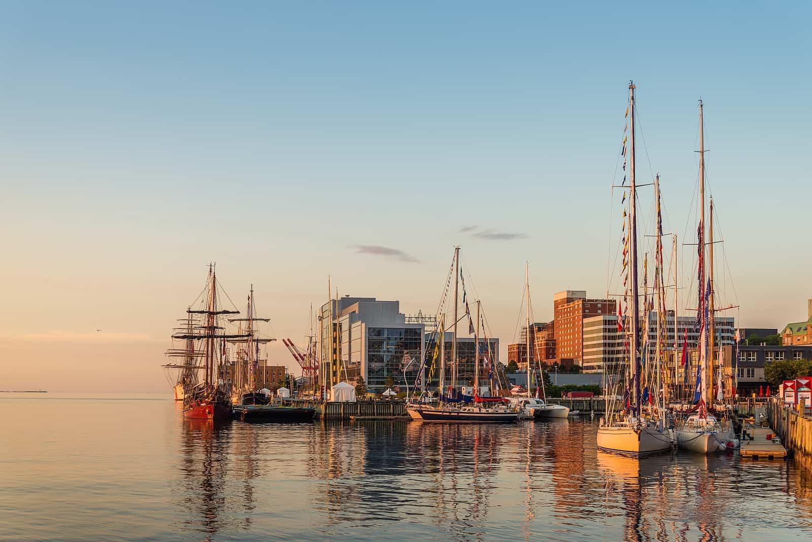 Der Hafen von Halifax, einer der größten Naturhäfen der Welt.