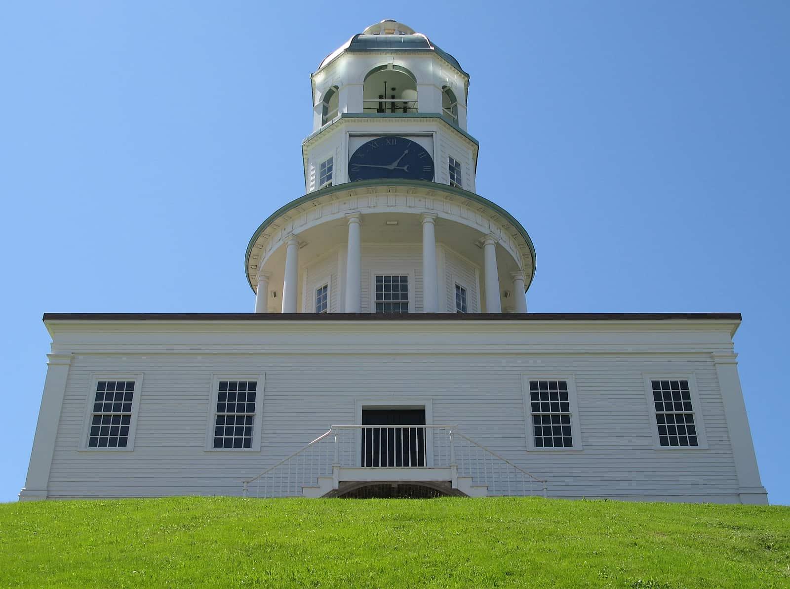 Der Uhrenturm der Zitadelle von Halifax.