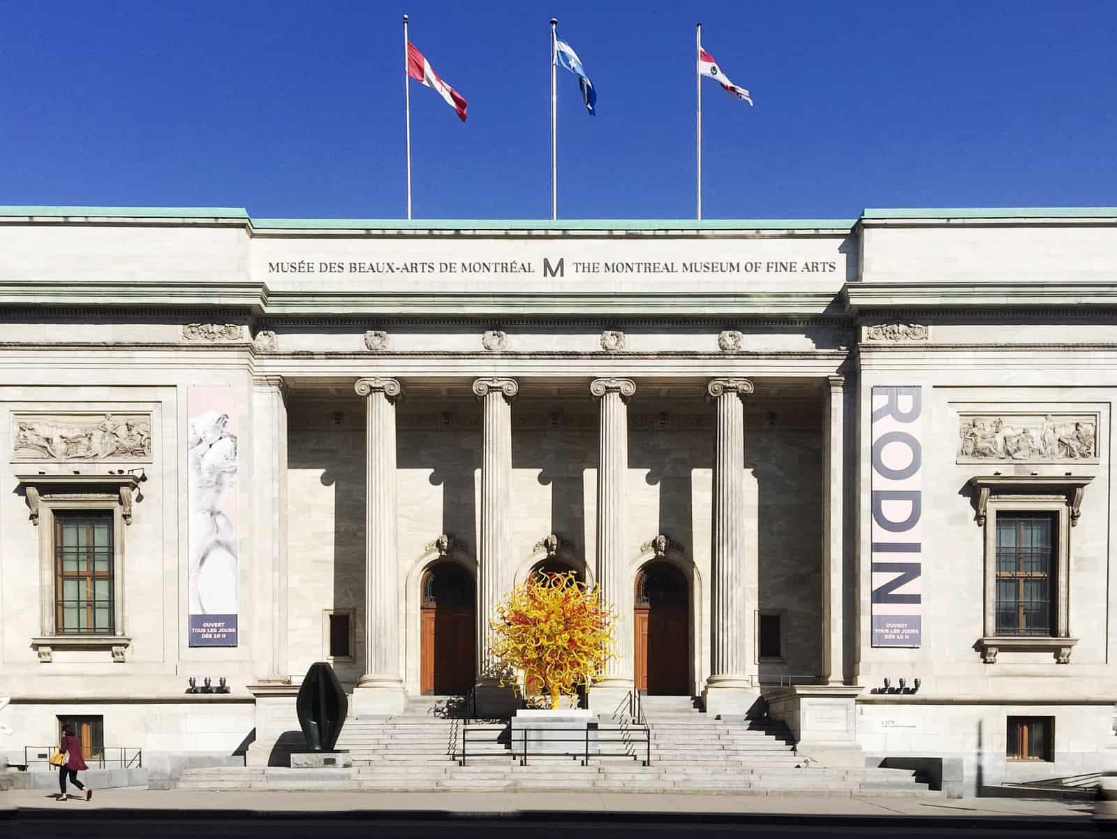 Musée des beaux-arts de Montréal/The Montreal Museum of Fine Arts. Foto Alice Gao